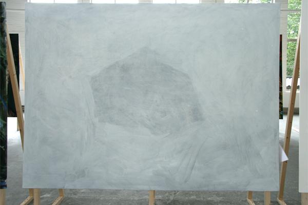 Aagje Linssen - Weer Wit - Spieraam op canvas