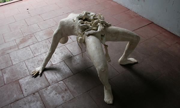 Atelier van Lieshout - Birthing Woman