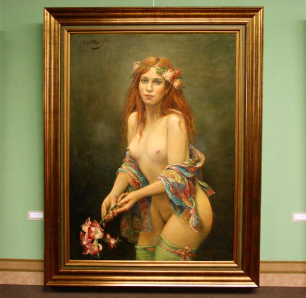 Cornelis le Mair - Het schildersmodel