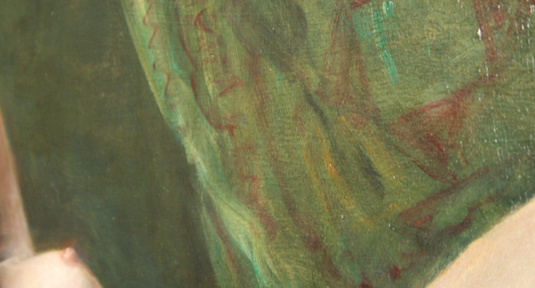Cornelis le Mair - Liggend naakt (detail)