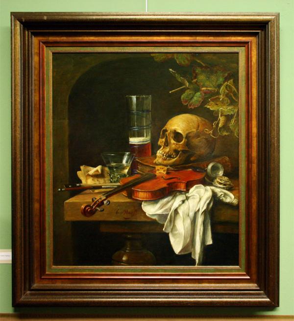 Cornelis le Mair - Stilleven (vanitas)