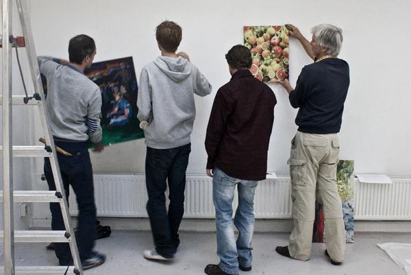 Erik-Jan Ligtvoet, Niek, Jordy Koevoets en Kees Koomen