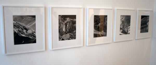 Anya Galiaccio - Untitled - 27x20cm Groep van 6 foto's op papier