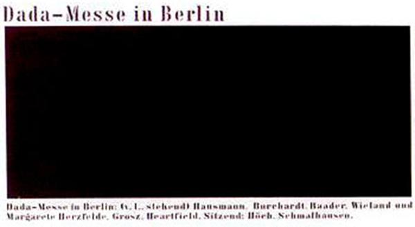 Endre Tot - Dada-MesseI in Berlin