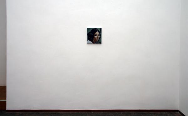 Hans Broek - Angelica Sedara - 33x30cm Olieverf op doek