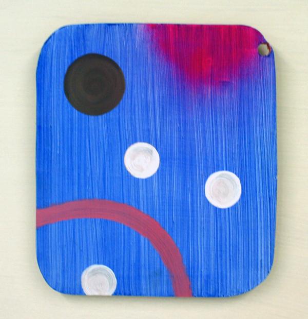 Jacqueline van den Bos - Sink - Acrylverf op hout