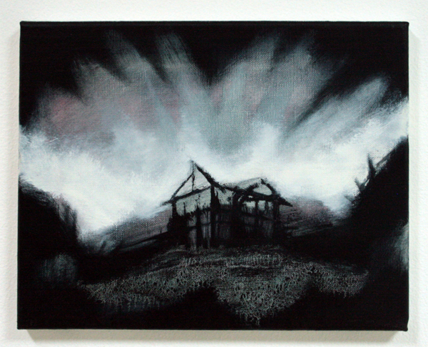 Par Stromberg - Ashes - 24x30cm Olieverf op canvas