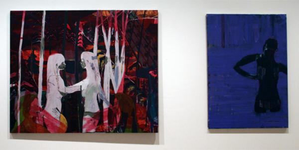 Alex Linderholm (1981) - Etyd & The Purple Painting - Olieverf op doek