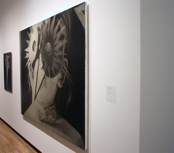 Carl Johan Hogberg (1979) - First Female Mask 1 - Olieverf op doek