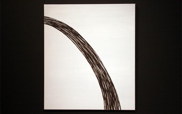 Evi Vingerling - Zonder Titel - 140x120cm Olieverf en gouache op canvas