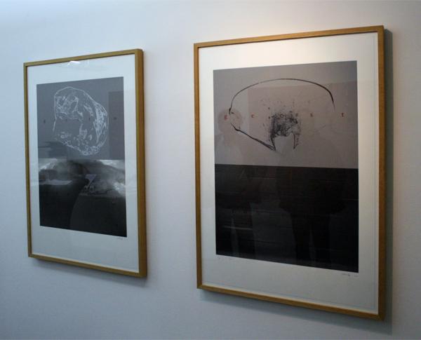 Rene Korten - Geest I & II - 114x81 cm Zeefdruk op papier
