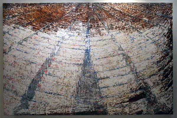 Gijs van Lith - Walhalla - 200x300cm Olieverf, acrylverf, alkydverf en spuitbus op canvas