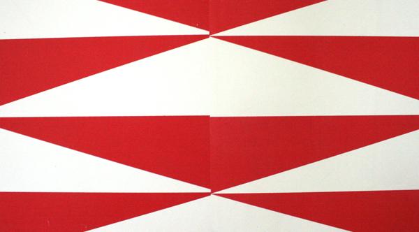 Jan van der Ploeg - Untitled - 168x119cm Offset poster installatie (detail)
