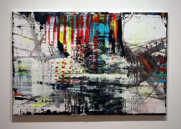 Koen Delaere (1970) - Zonder Titel - Olieverf en acrylverf op doek