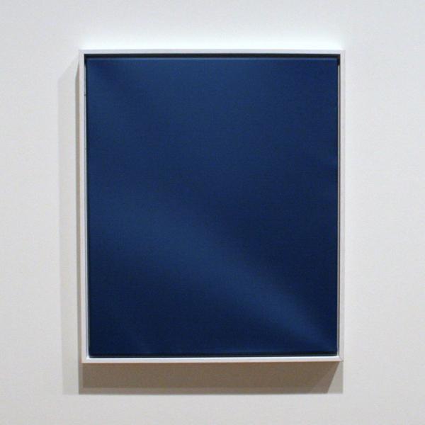 Lieven Hendriks (1970) - Ruffled Blue (Marine) - Acrylverf op linnen