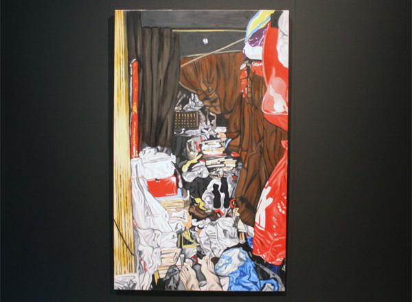 Nadine Spronk - Plastic - 180x110cm Olieverf op doek