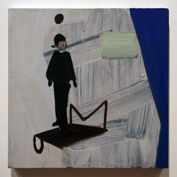 Pim Blokker (1974) - Making The Set - Olieverf op doek