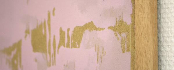 Seabait 3 - 120x154cm Acryl en grafiet op mdf (detail)