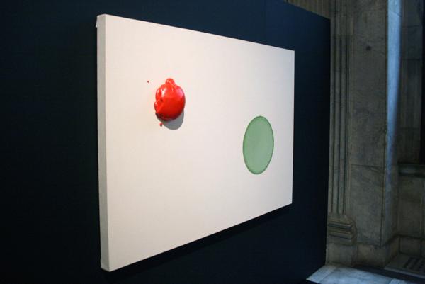 Tom de Groot - Pinpoint Precision - 121x180cm Polyurethaan op canvas