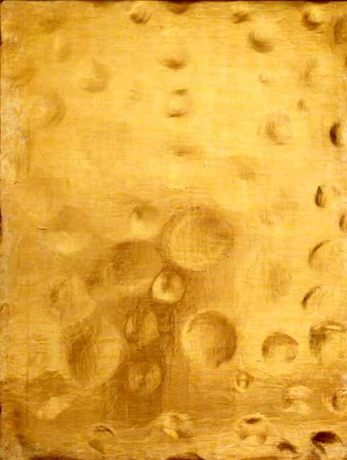 Yves Klein - Monogold