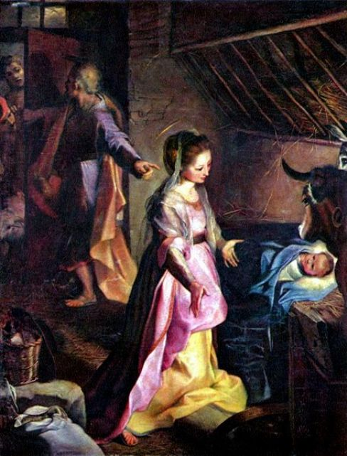 Federico Barocci - De Geboorte van Christus