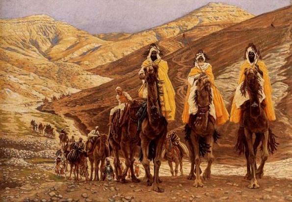 James Tissot - De reis van de drie koningen