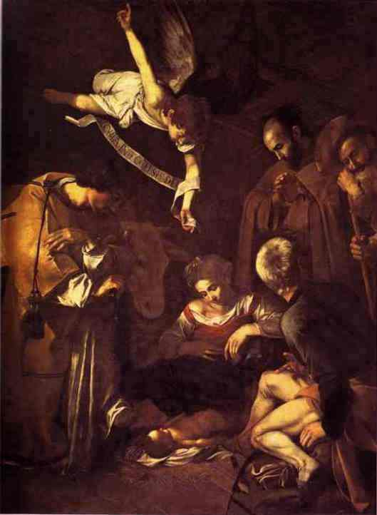 Michelangelo Caravaggio - De Ontvangenis