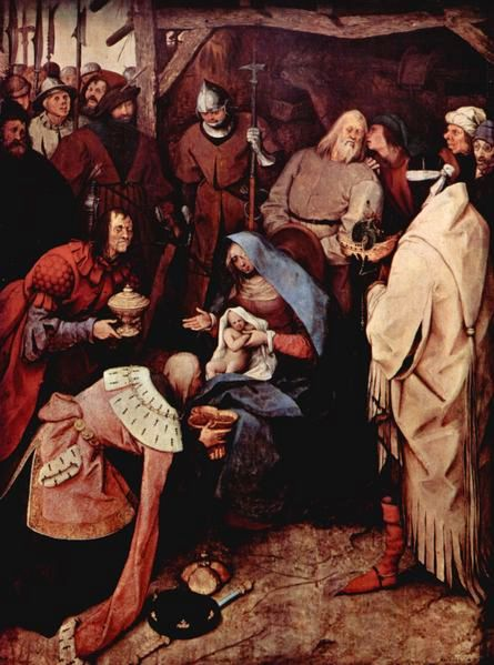Pieter Bruegel - Aanbidding door de drie wijzen uit het Oosten