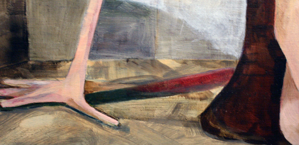 Roland Sohier - Pieta - 100x140cm Olieverf op canvas (detail)