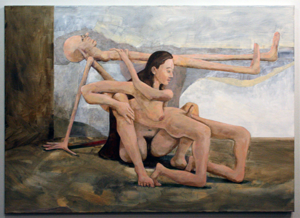 Roland Sohier - Pieta - 100x140cm Olieverf op canvas