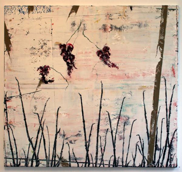 Ronald Zuurmond - Waterkant - 130x140cm Olieverf op doek