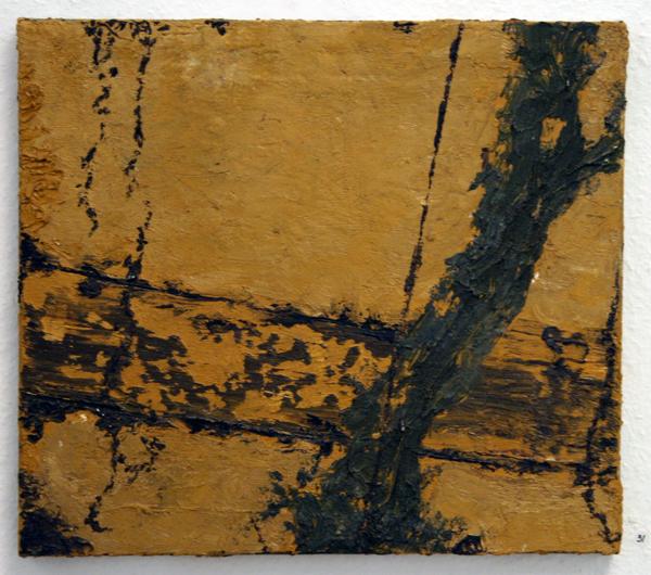 Ronald Zuurmond - Zonder Titel - 40x45cm Olieverf op doek