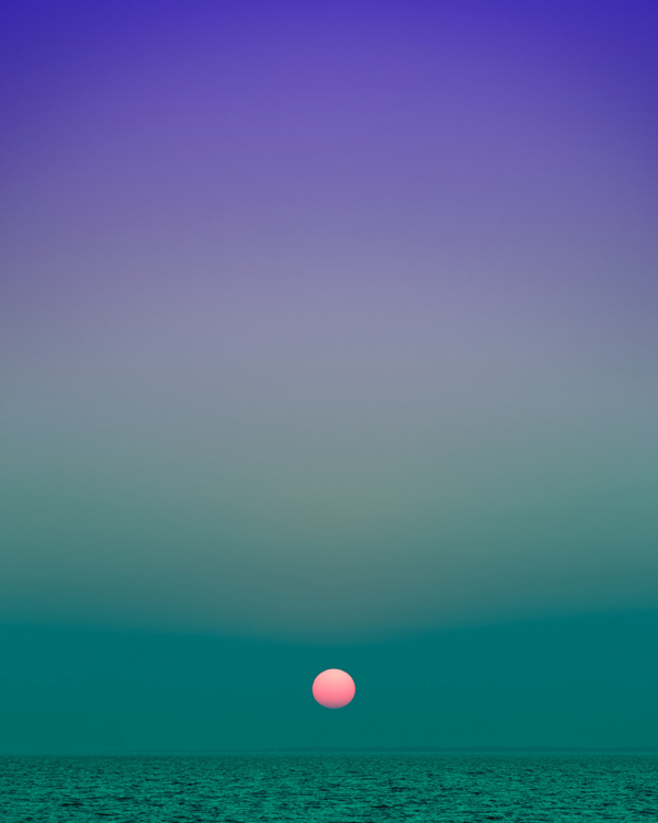 Eric Cahan - Fort Pond Bay Montauk NY Sunset 8 10pm