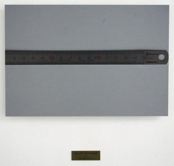 Rumiko Hagiwara - 50 cm of 15 cm ruler - 50x34cm Inkjet foto