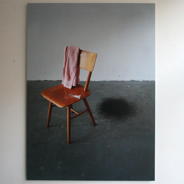 Rumiko Hagiwara - Black Hole - 83x115cm Inkjet print