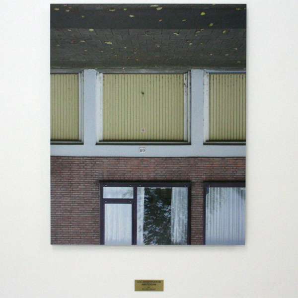 Rumiko Hagiwara - Lou Jansenplein 89 Amsterdam - 60x74cm Inkjet print