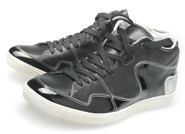 Floris van Bommel - Textures Sneaker - maat 8,9,10,11 Leder, rubber en mixed media