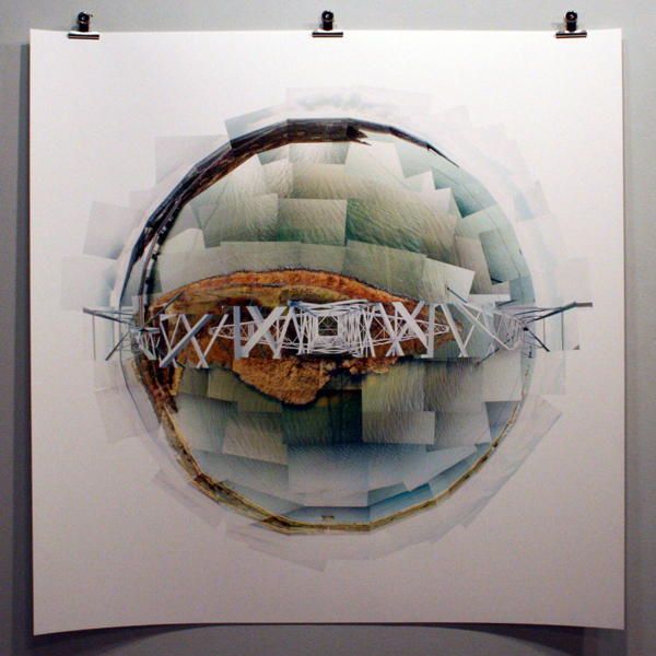 Wouter van Buuren - Almere - 120x120cm Ultrachrome print op papier