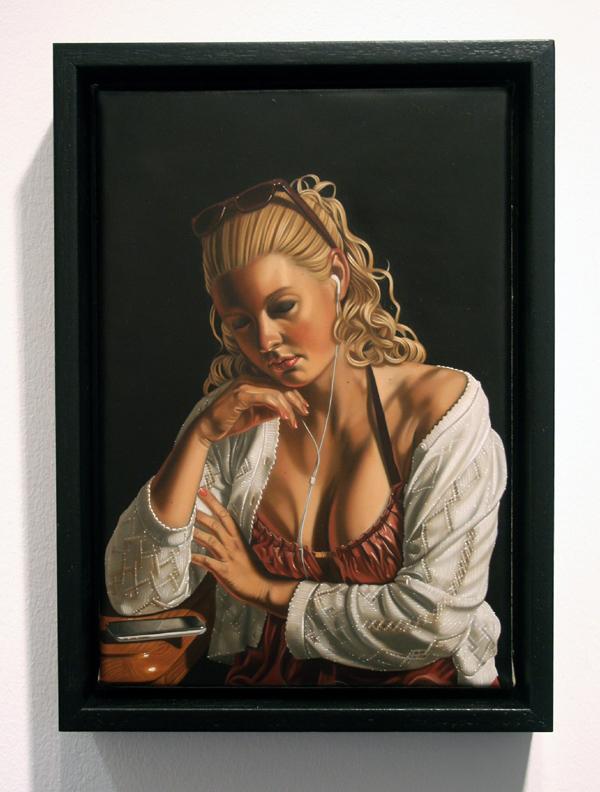Sierk van Meeuwen - Rustend meisje - Galerie Bart