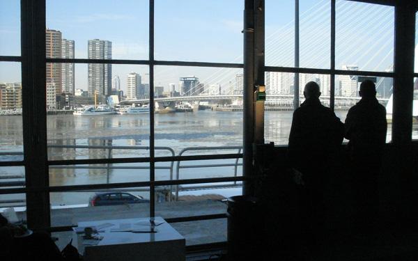 uitzicht cruise terminal