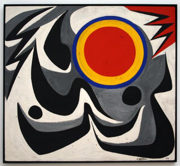 Alexander Calder - Sao Paulo - Olieverf op multiplex