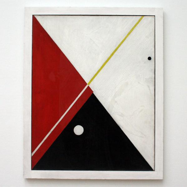 Alexander Calder - Zonder Titel - Olieverf op doek