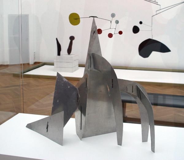 Alexander Calder - Zonder Titel (maquette) - Alumonium en beschilderd metaal