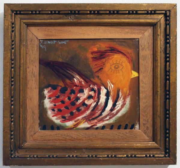 Constant - Vogel - Olieverf op doek