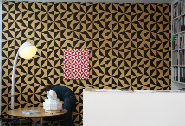 Jan van der Ploeg - Zonder Titel - 72x60cm Acrylverf op canvas op MDF paneel