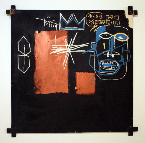 Jean-Michel Basquiat - Kings of Egypt III - Olieverf op doek
