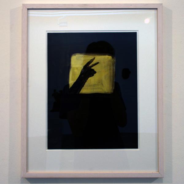 Joncquil - Shadow Bunny - 50x40cm Olieverf en acrylverf op papier