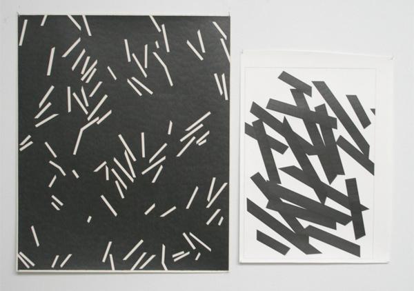 Marc Nagtzaam - Double Shit & Modernist Persuasion (Variant) & Versions - Potlood op papier