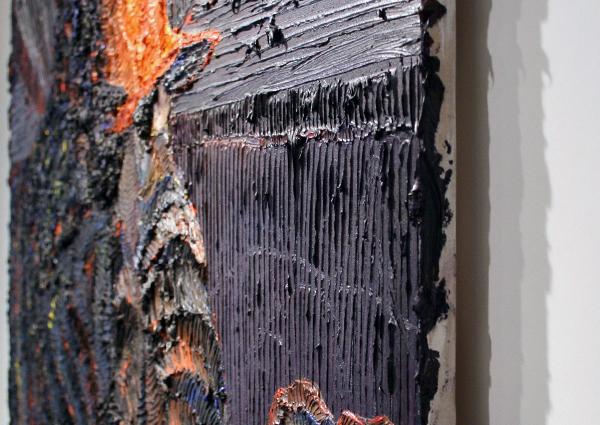 Raquel van Haver - Royal Purple (detail)