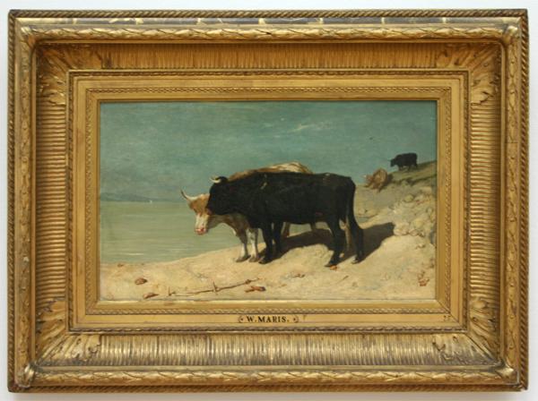 Willem Maris - Zomerhitte - Olieverf op doek